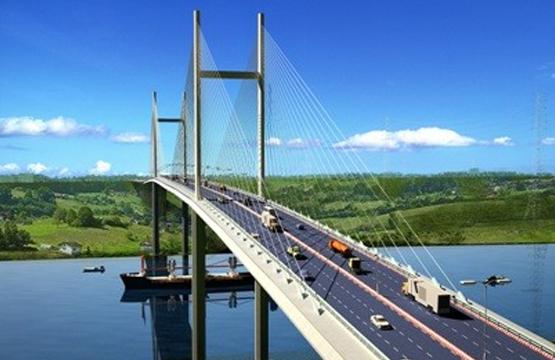 Binh Khanh, Phuoc Khanh Cable Bridge Project (Ho Chi Minh, Vietnam)
