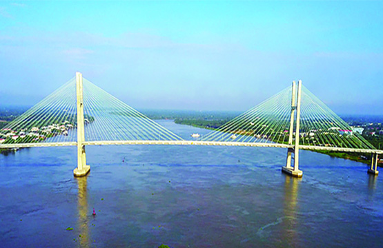 Cao Lanh Cable Bridge (Dong Thap, Vietnam)