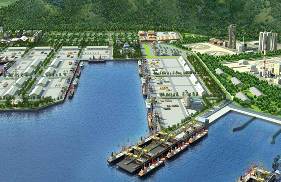 Lach Huyen Port Infrastructure construction project (Hai Phong, Vietnam)