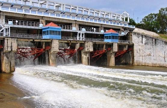 Phuoc Hoa Hydropower plant (Binh Duong, Vietnam)