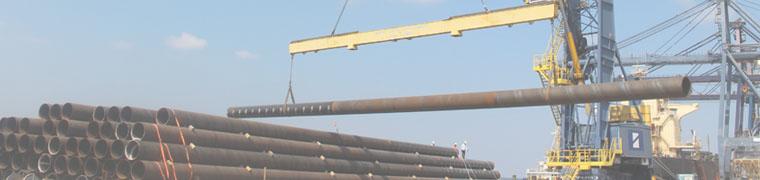vận chuyển ống thép dài